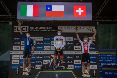 WM Val di Sole: Martin Vidaurre krönt sich zum U23-Weltmeister