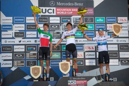Weltcup Lenzerheide: Erster U23-Weltcup-Sieg für Martin Vidaurre
